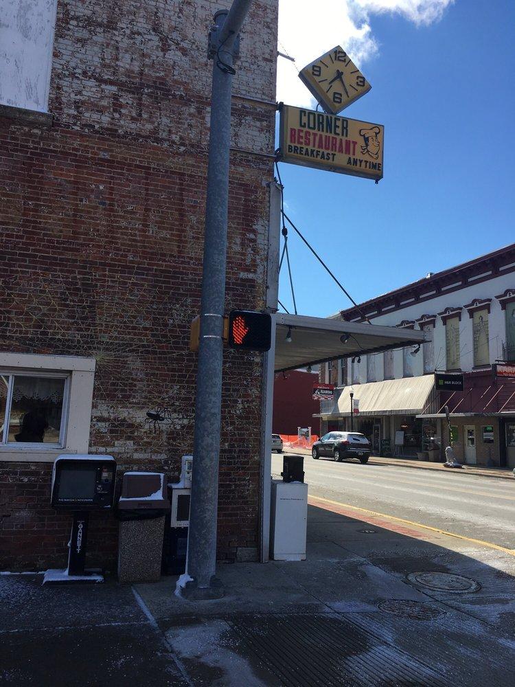The Corner Restaurant: 250 N Main St, Rushville, IN