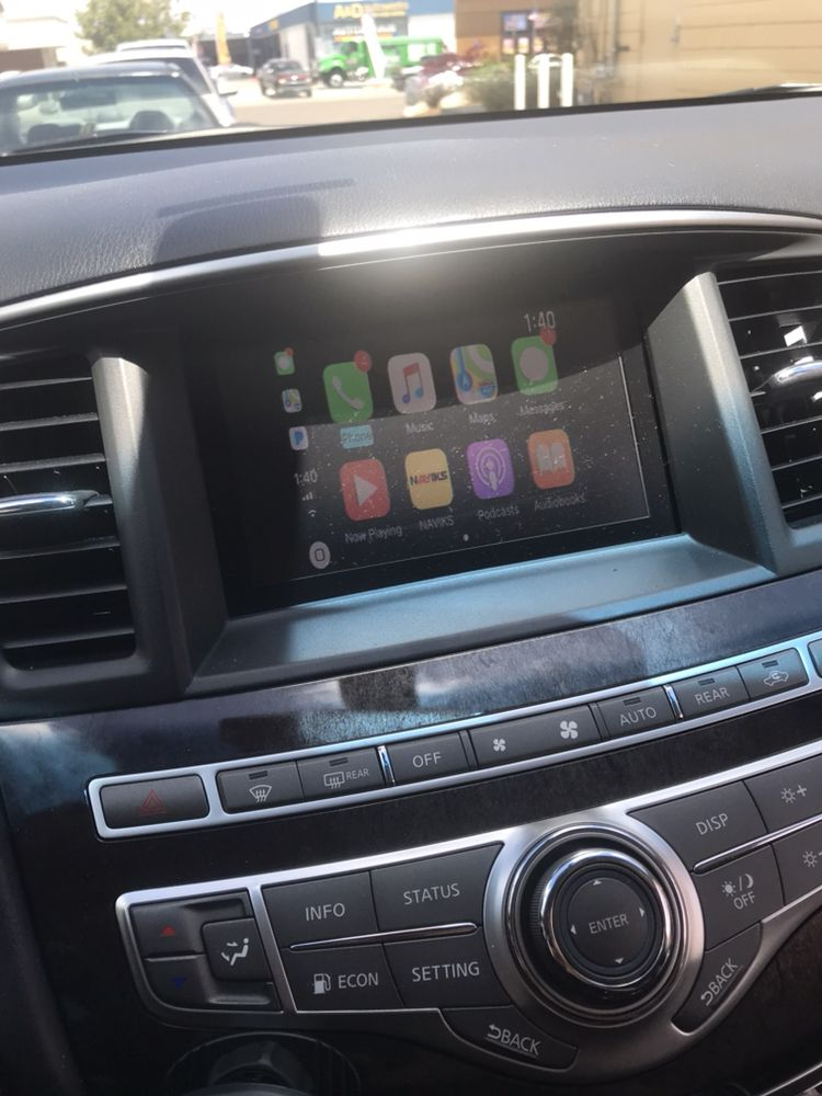 Infiniti m35 2014 apple CarPlay add on - Yelp