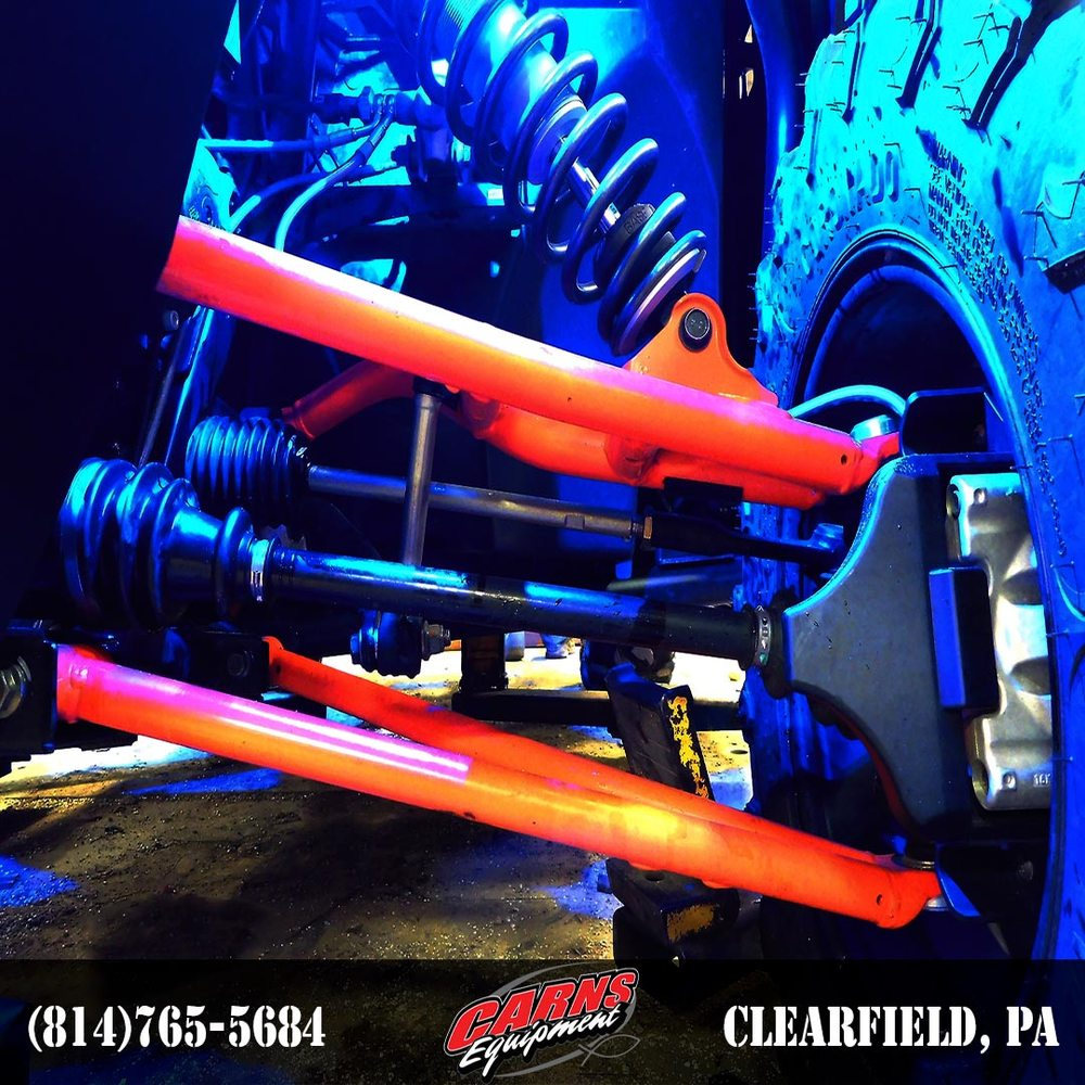 Carns Equipment: 14357 Clearfield Shawville Hwy, Clearfield, PA