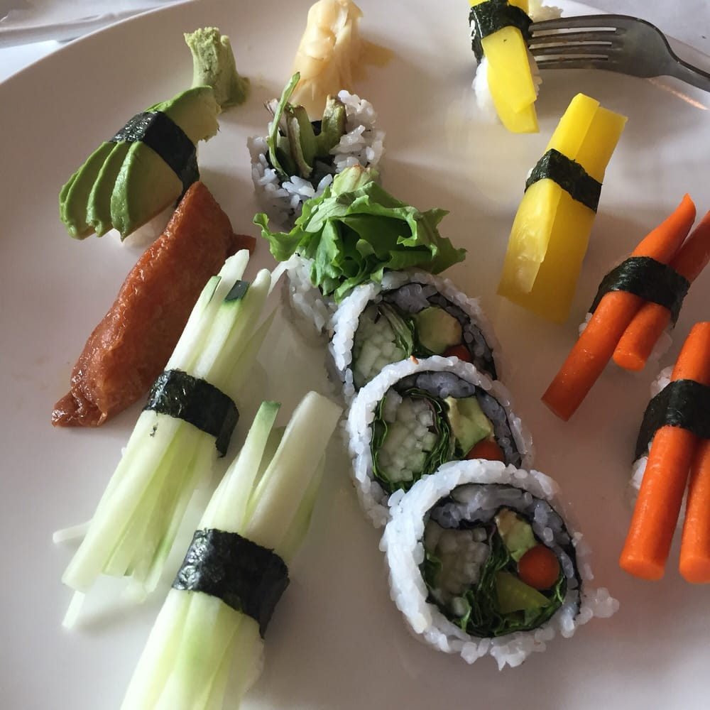 Veggie roll platter excellent yelp for Asia sushi bar and asian cuisine mashpee