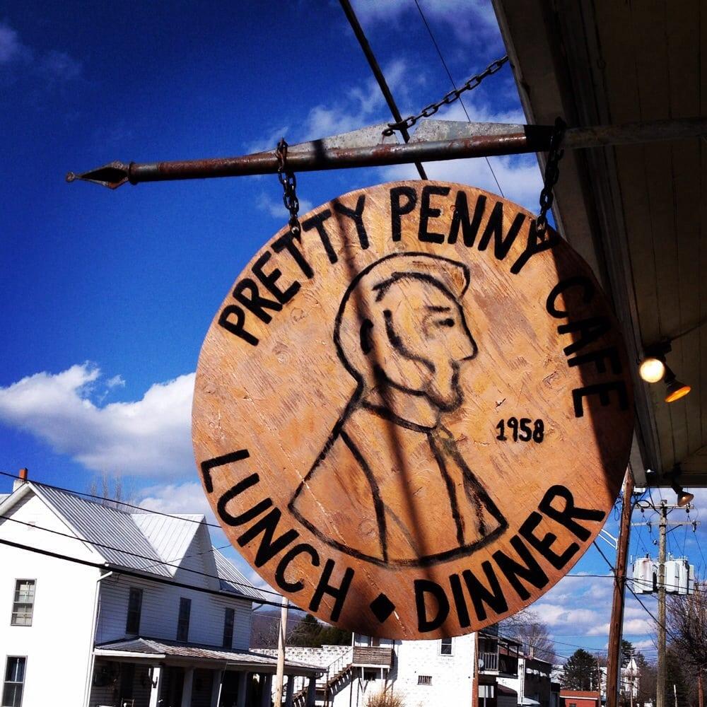 Pretty Penny Cafe: 7484 Seneca Trl, Hillsboro, WV
