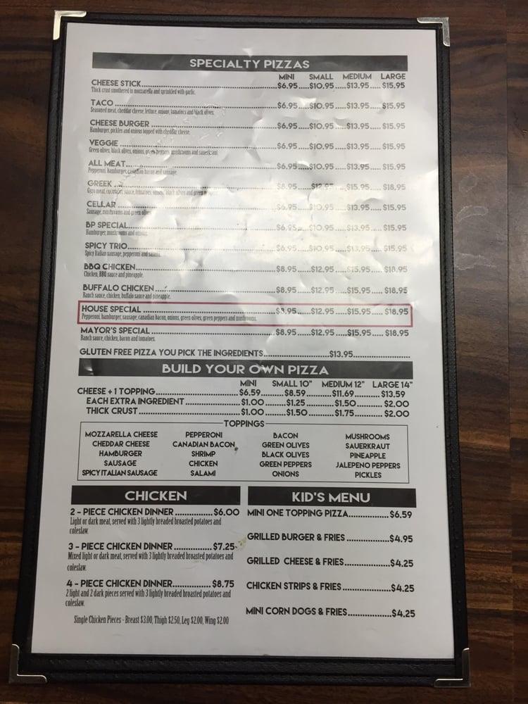 Pizza Cellar: 302 E Main St, Blmng Prairie, MN