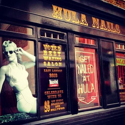 Hula nails closed nail salons 203 whitecross street - Nail salons in london ...