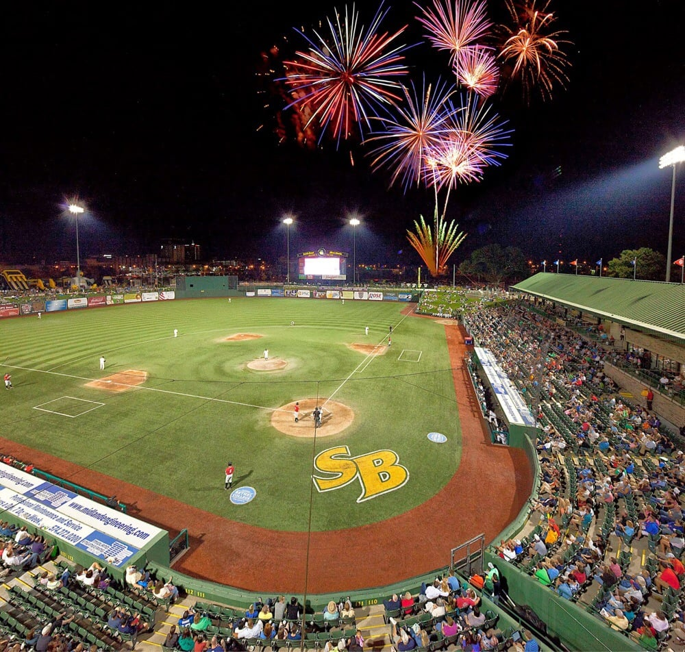 South Bend Silverhawks: 501 W South St, South Bend, IN