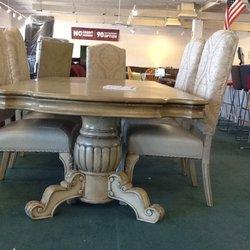Photo Of Furniture Mall   Mesa, AZ, United States. Gorgeous Antique White  Dining