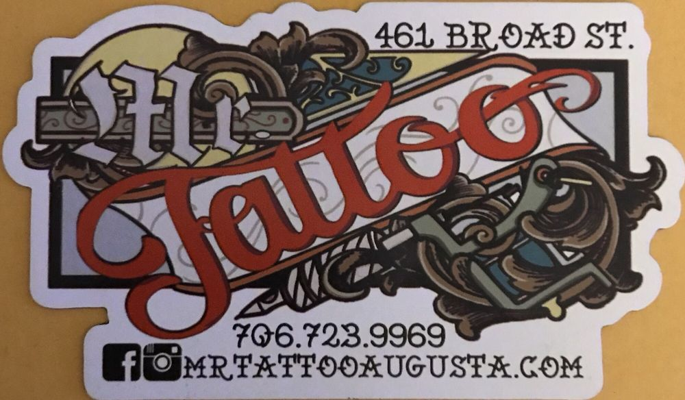 Mr. Tattoo: 461 Broad St, Augusta, GA