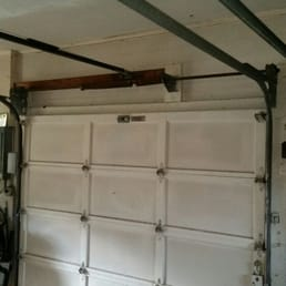 Photo of Budget Garage Doors - Orlando FL United States. Broken garage door & Budget Garage Doors - 15 Photos - Garage Door Services - Forest ... Pezcame.Com