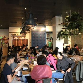Interior Of Farmhouse Kitchen Thai Cuisine In San Francisco