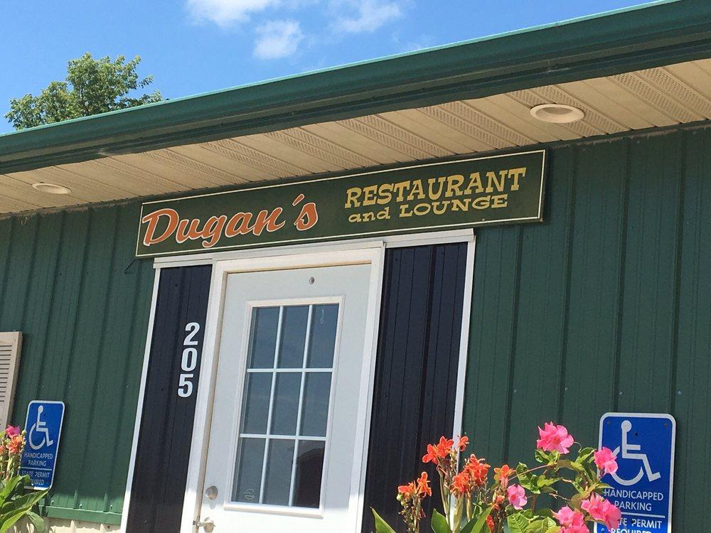 Dugans Restaurant & Lounge: 205 Adams St, Floyd, IA