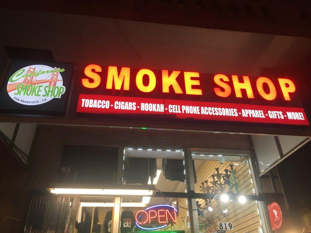 California Smoke Shop: 819 Geary St, San Francisco, CA