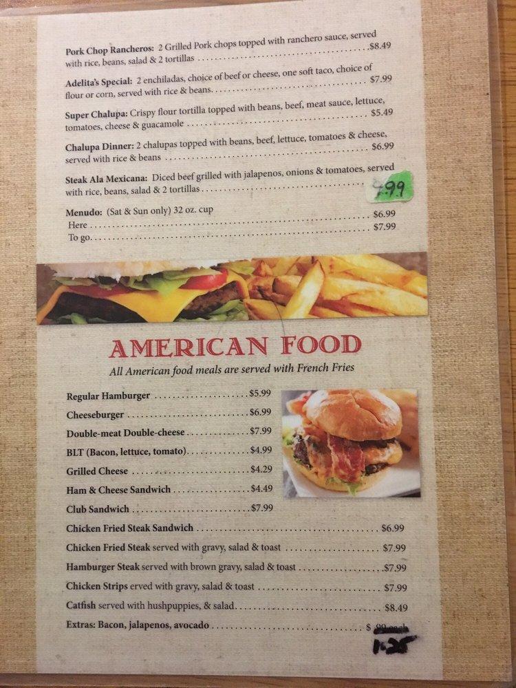 Adelitas Restaurant: 123 N Broadway St, Ballinger, TX