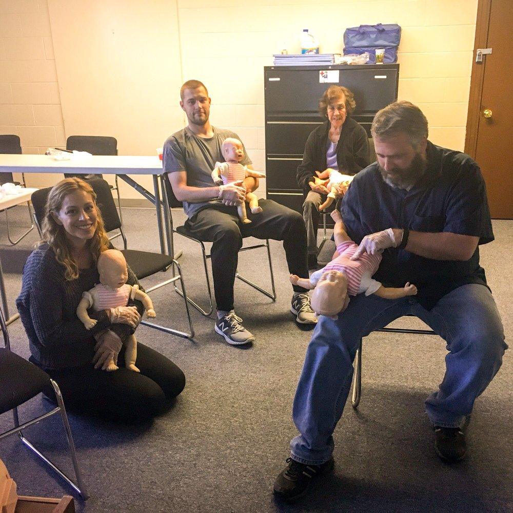 Adult And Pediatric Cpr And First Aid Training Im Trained And