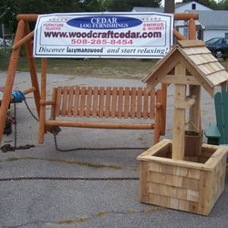 Photo Of Woodcraft Cedar Furniture Company   Norton, MA, United States.  Cedar Shingled