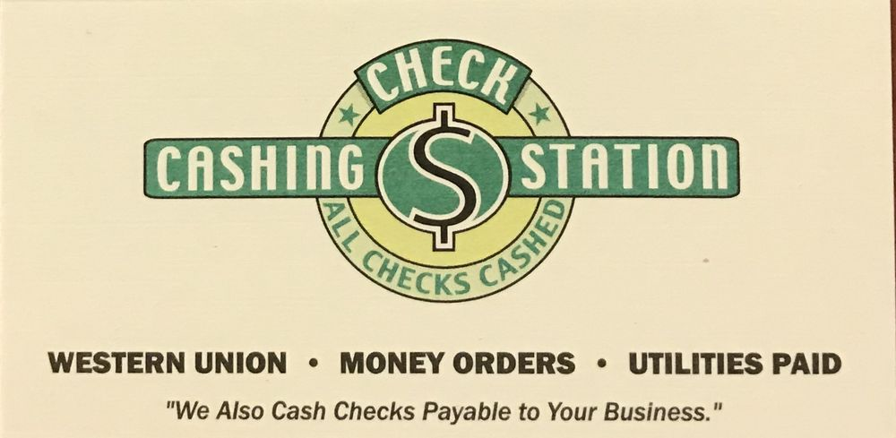 Check Cashing Station