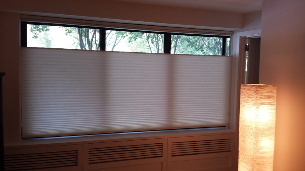 Hunter Douglas Honeycomb Cellular Shades Top Down Bottom