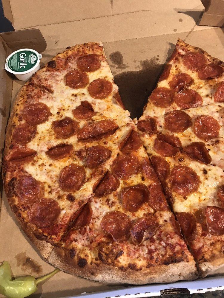 Food from Papa John's Pizza