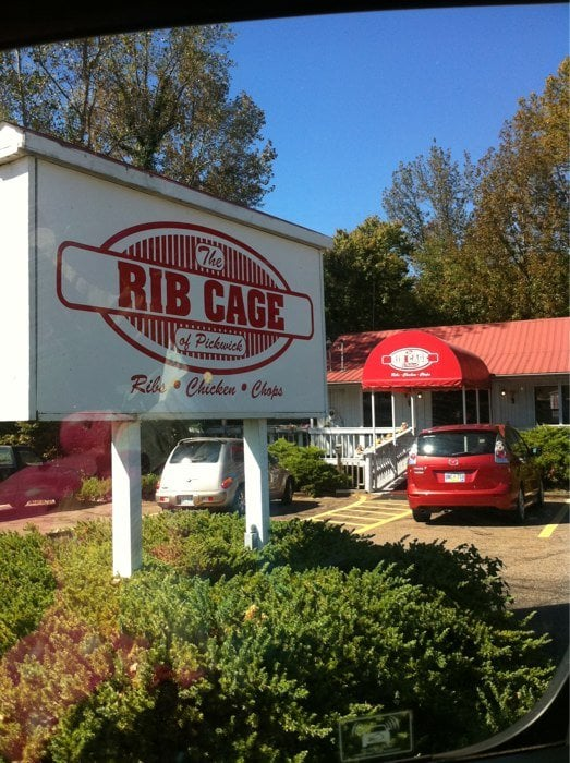 Rib Cage: 12840 Highway 57, Counce, TN