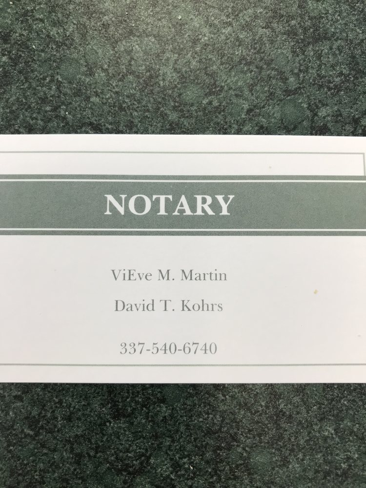 DVSK Notary Services: Lake Charles, LA