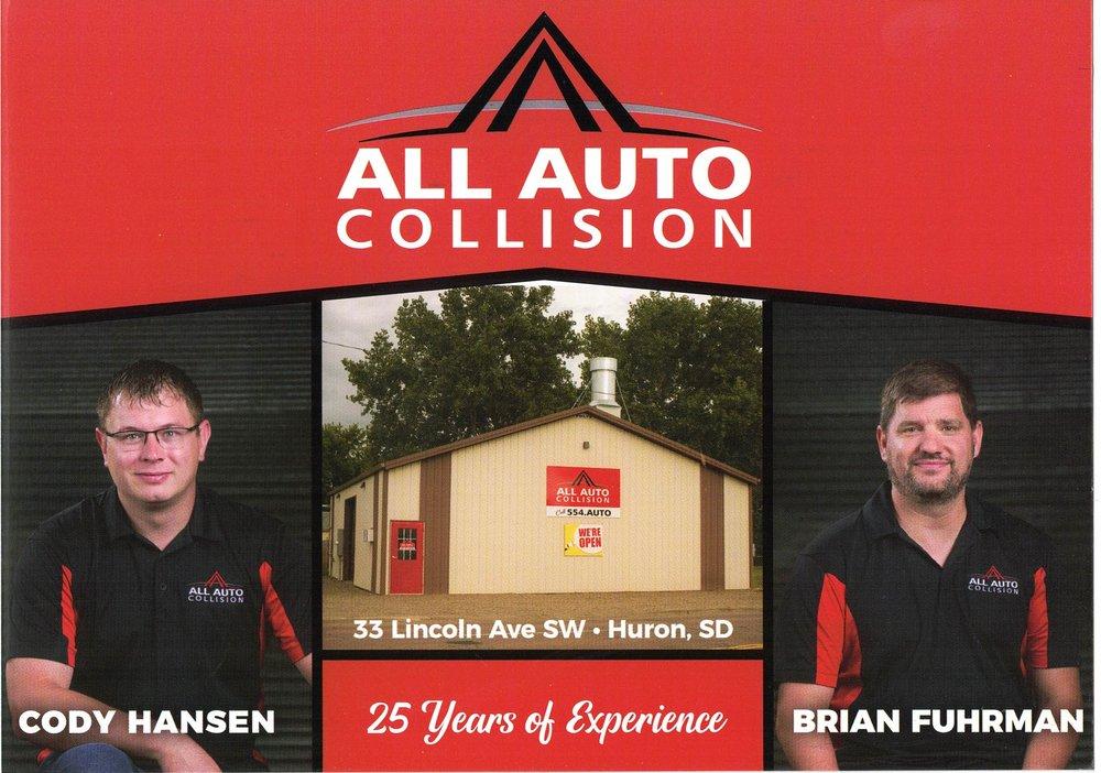 Al lAuto Collision: 33 Lincoln Ave SW, Huron, SD