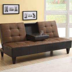 Photo Of Easylife Furniture   Palmdale, CA, United States. Sofa Bed With Cup