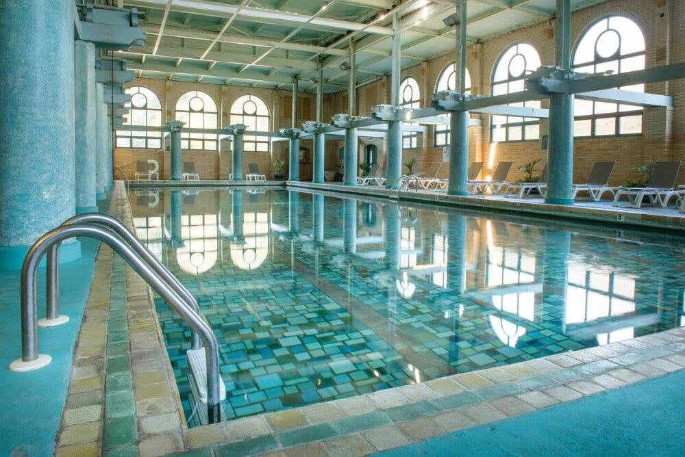 Photo Of Alden Park   Philadelphia, PA, United States. Indoor Pool With A