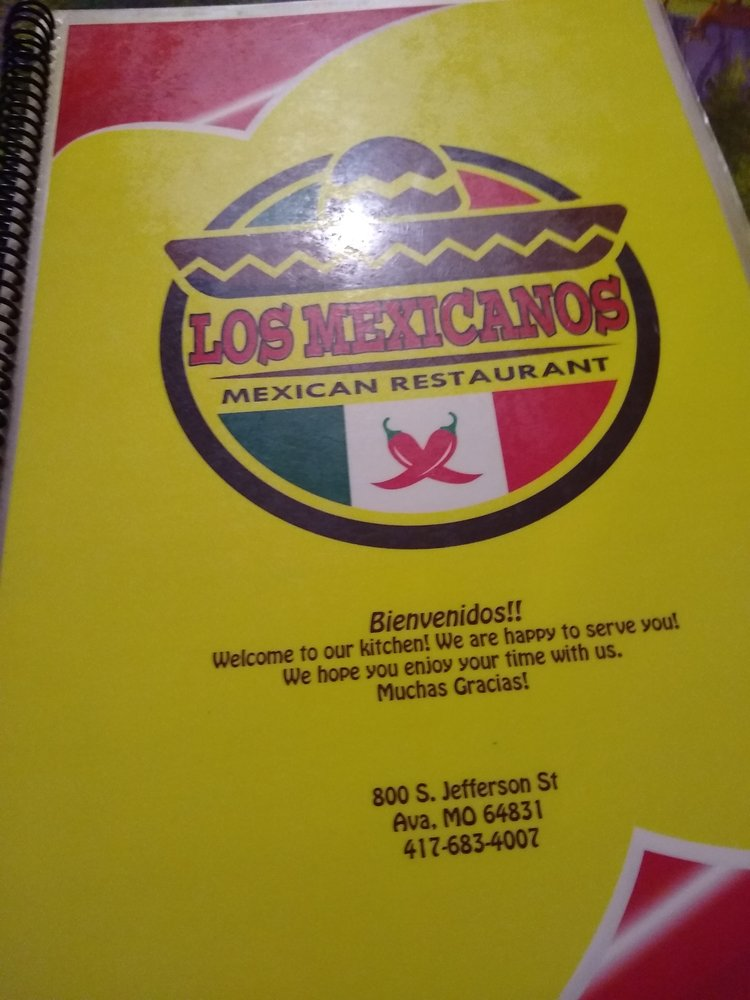 Los Mexicanos Family Restaurant: 800 S Jefferson St, Ava, MO