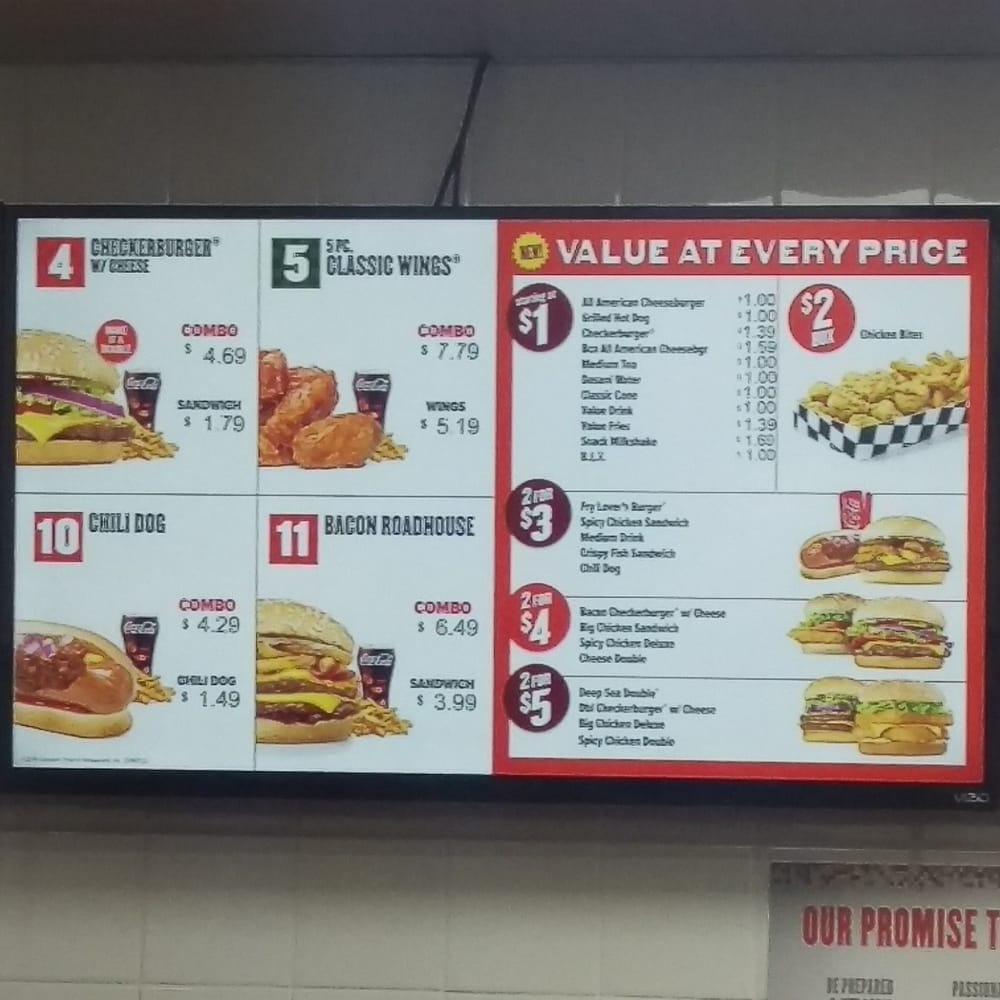 Checkers Fast Food Menu Recipes Food