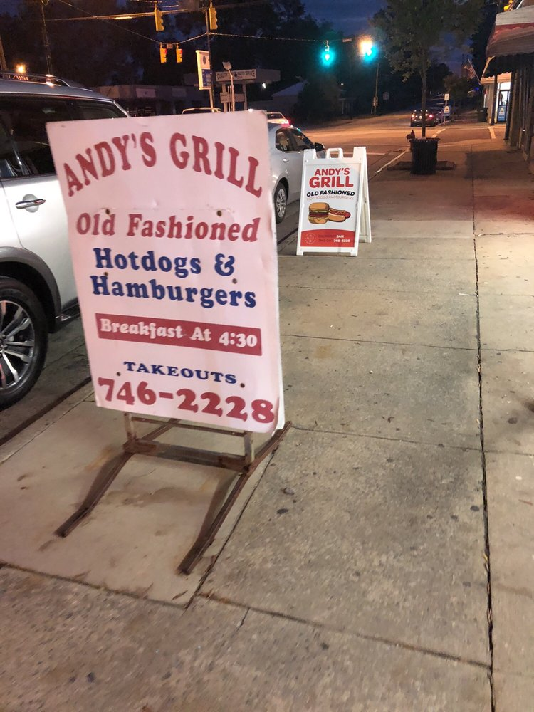 Andy's Grill and Recreation: 4264 Lee St, Ayden, NC