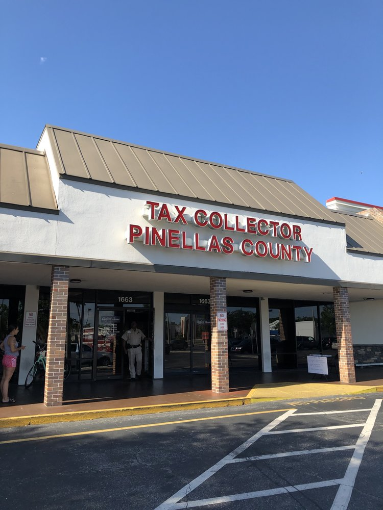 Pinellas County Tax Collector: 1663 Gulf To Bay Blvd, Clearwater, FL