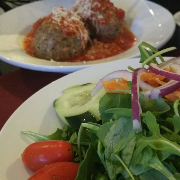 Meatballs and salad yelp for Anthony s creative italian cuisine