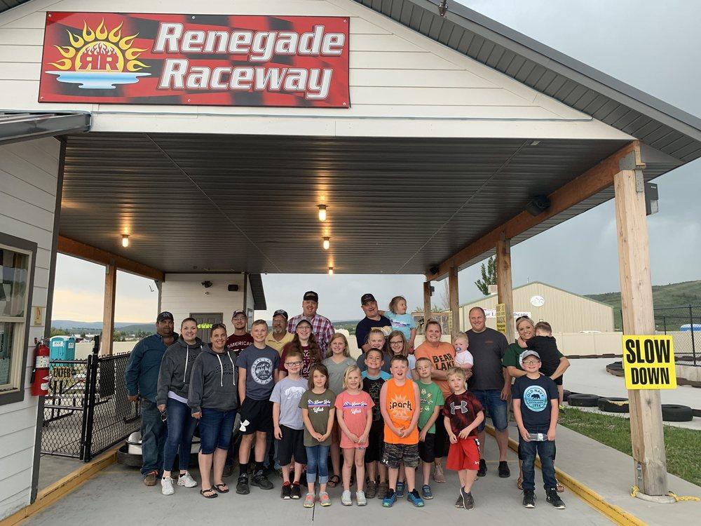 Renegade Raceway: 270 W Logan Rd, Garden City, UT