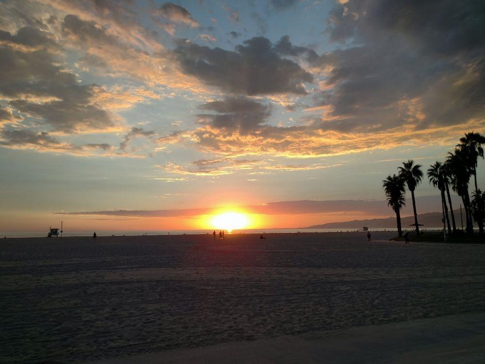 Photo Of Venice Beach Smoke Ca United States