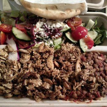 Photo of Yalla Mediterranean   Fremont  CA  United States  Chicken shwarma  on aYalla Mediterranean   437 Photos   290 Reviews   Mediterranean  . Healthy Places To Eat In Fremont Ca. Home Design Ideas