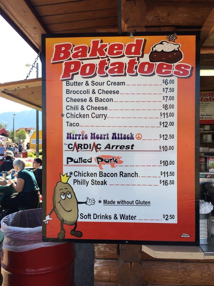 Potato Palace: 2075 Glenn Hwy, Palmer, AK