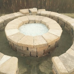 Photo of Meier's Yard Polishing and Landscape - El Cajon, CA, United States. Fire pit rebuilt by company.