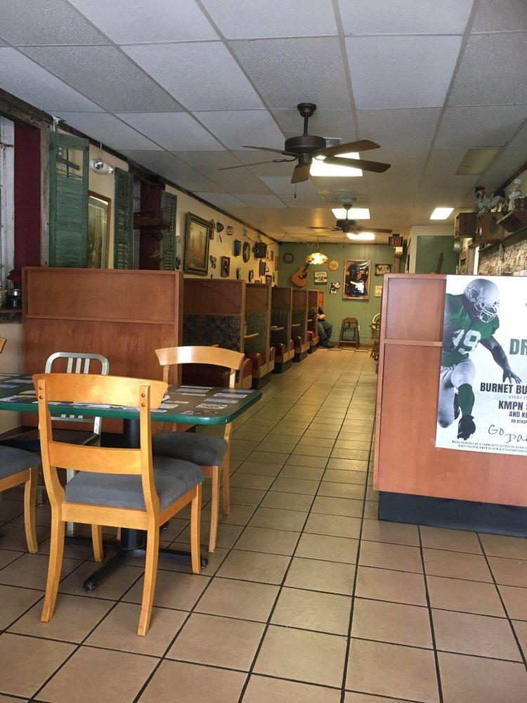 Crazy Gal's Cafe: 414 Buchanan Dr, Burnet, TX