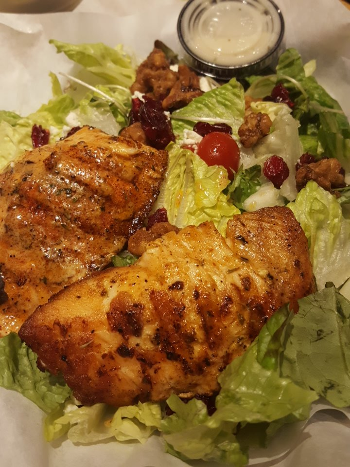 Cajun salmon salad 10 10 yelp for California fish grill gardena ca