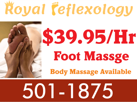 Royal Reflexology: 7745 Cox Ln, West Chester, OH