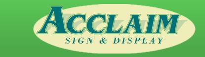 Acclaim Sign & Display