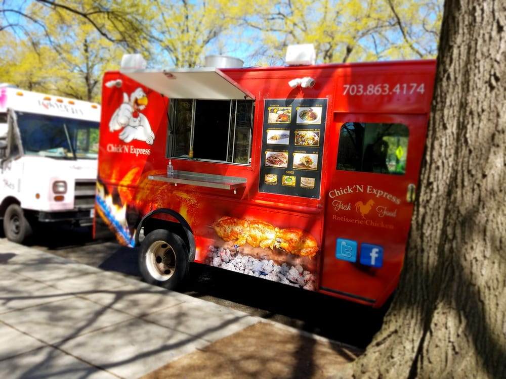 Chickn Express Food Trucks Washington Dc Restaurant Reviews