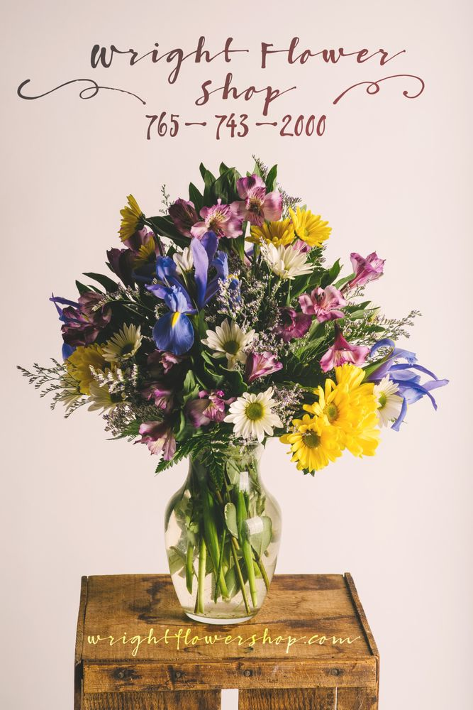 Wright Flower Shop: 1199 Sagamore Pkwy W, West Lafayette, IN
