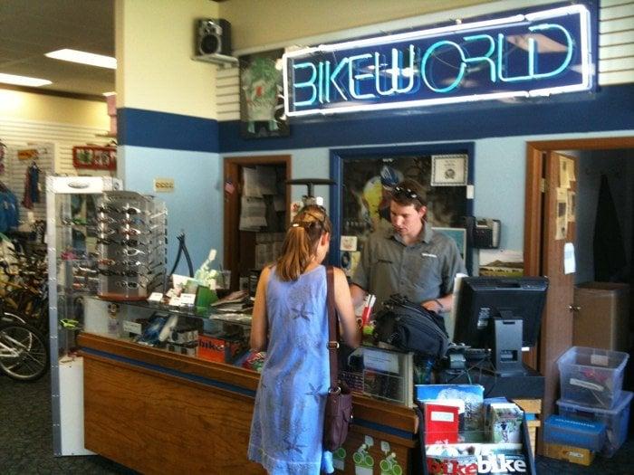 Bike World: 126 S 3rd St, Ames, IA