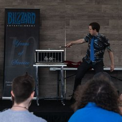 Photo Of Magician Huntington Beach Ca United States Performing For Blizzard Entertainment
