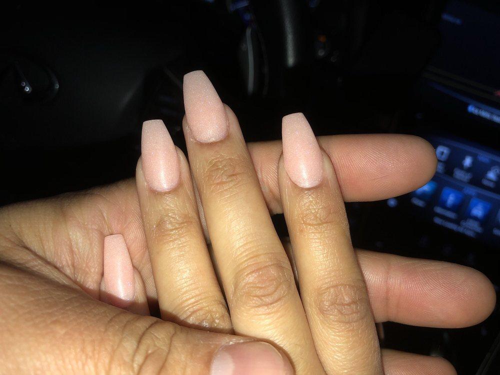 NexGen nude coffin nails in matte - Yelp