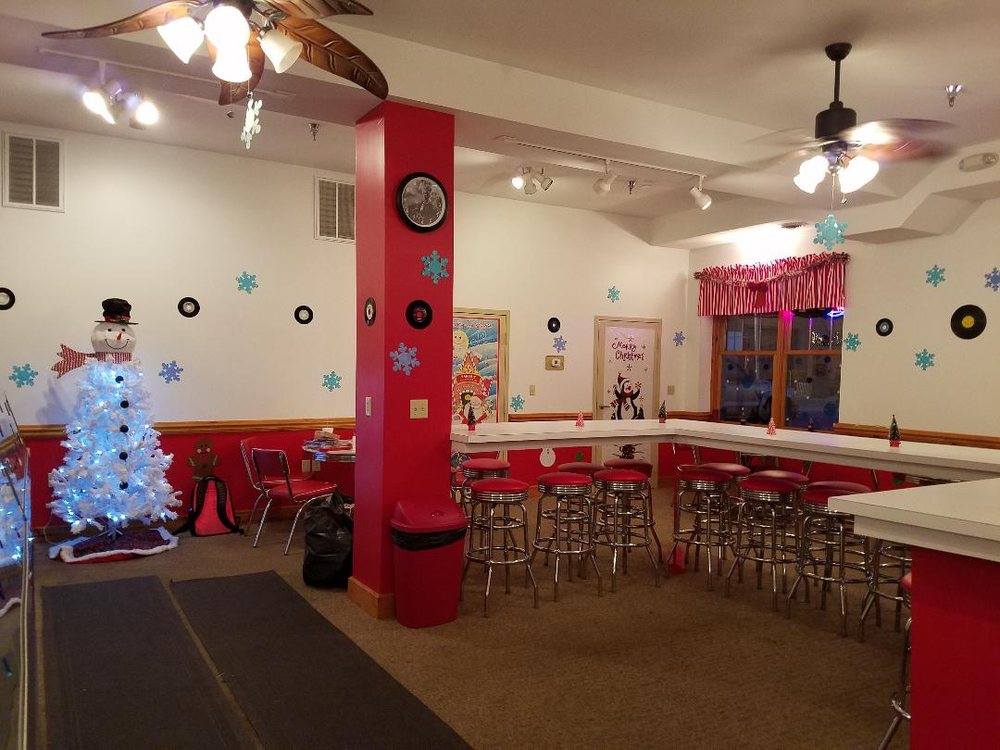 The Caboose Ice Cream Parlor: 200 Depot St, Elkins, WV