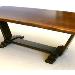 Photo Of Loki Custom Furniture   Somerville, MA, United States. Sapele Slab  Dining