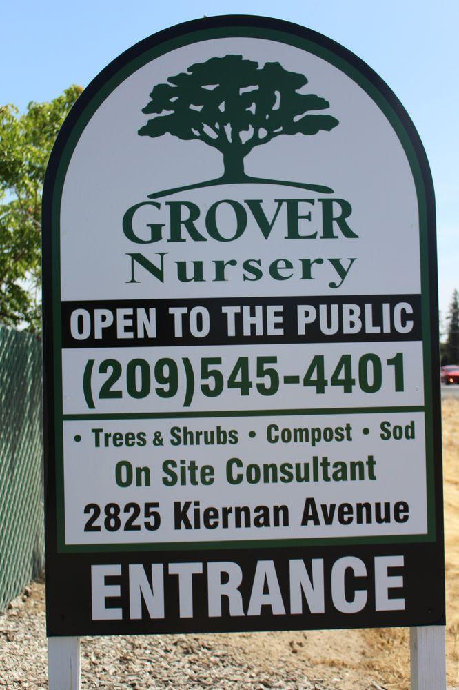 Grover Nursery: 2825 Kiernan Ave, Modesto, CA