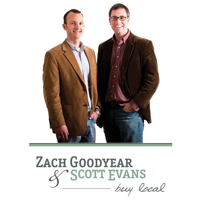 Scott Evans and Zach Goodyear