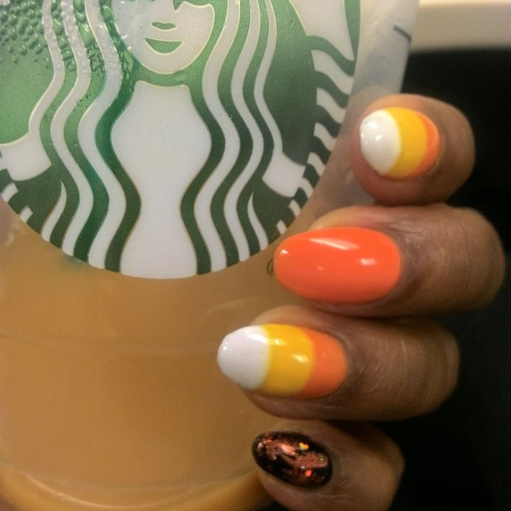 Candy Corn Nail Art Yelp