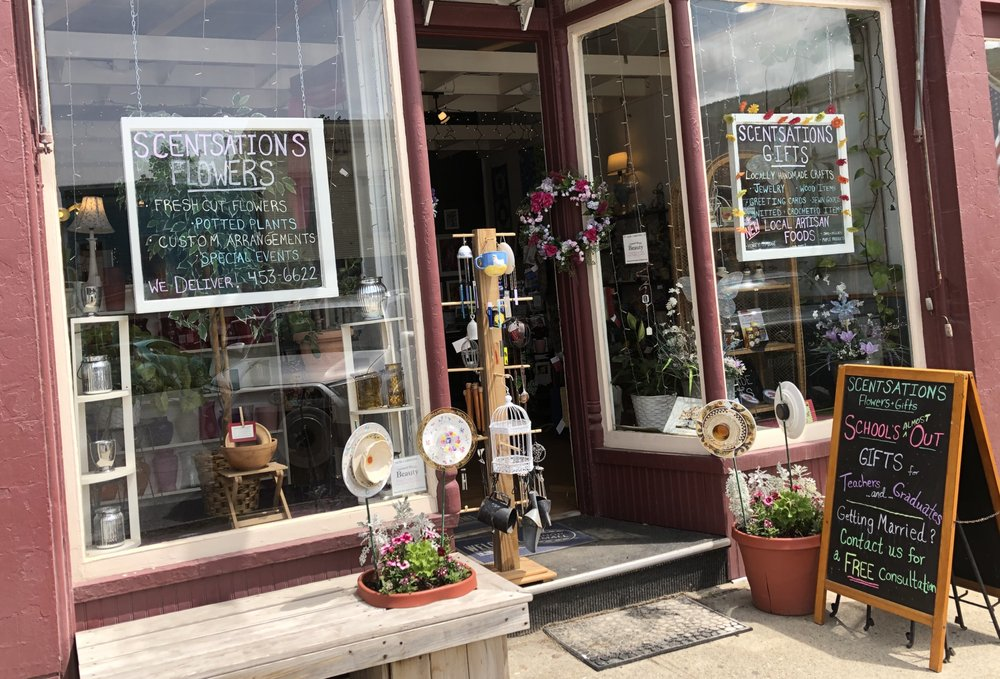 Scentsations Flowers & Gifts: 10 Main St, Bristol, VT